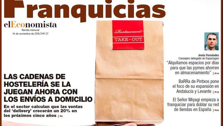 Entrevista en la Revista Franquicias elEconomista