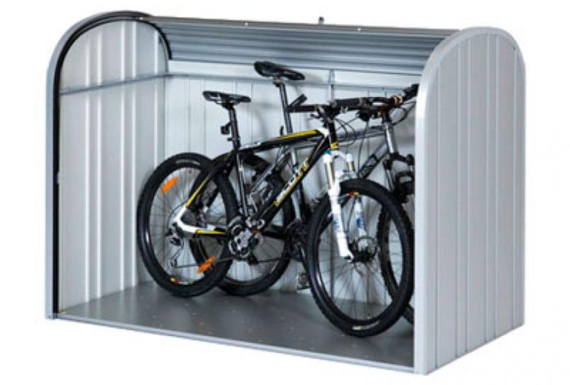 Armarios para guardar bicicletas en poco espacio Espaciogeo