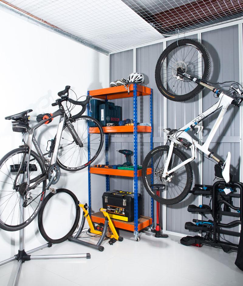 Guardar bicicleta en trastero selfstorage Espacio