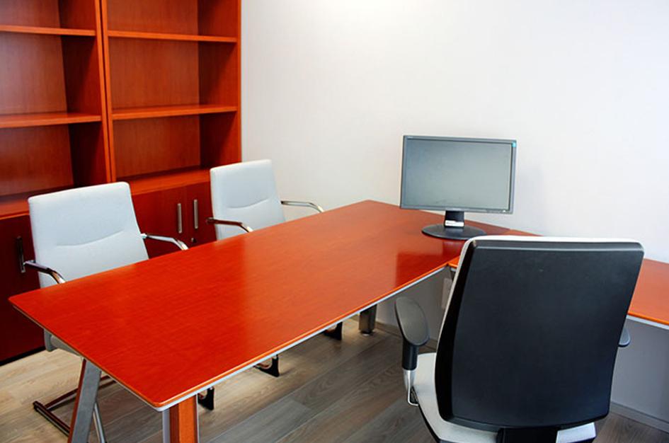 Alquiler de despacho individual en Espaciogeo Vigo