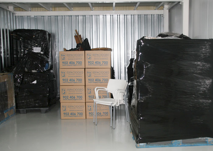 Almacenaje de Material en Espaciogeo Vigo