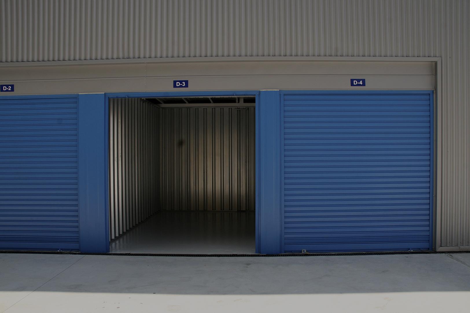 Alquiler de almacenes exteriores en Espaciogeo Vigo