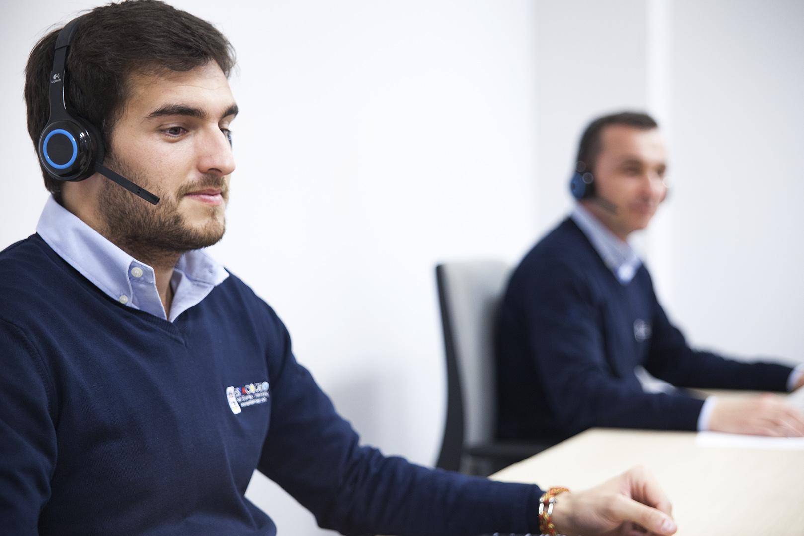 El equipo Call Center Espaciogeo Vigo