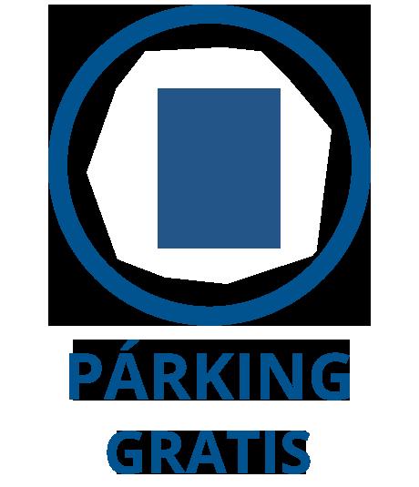 Parking gratuito en Espacigeo Vigo