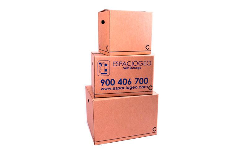 Material embalaje caja plus 112,8 litros Espaciogeo Vigo