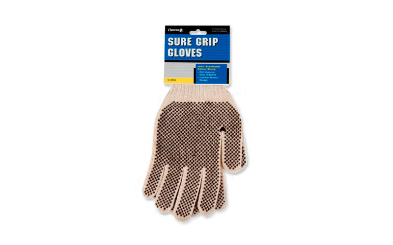 Material embalaje guantes de algodón