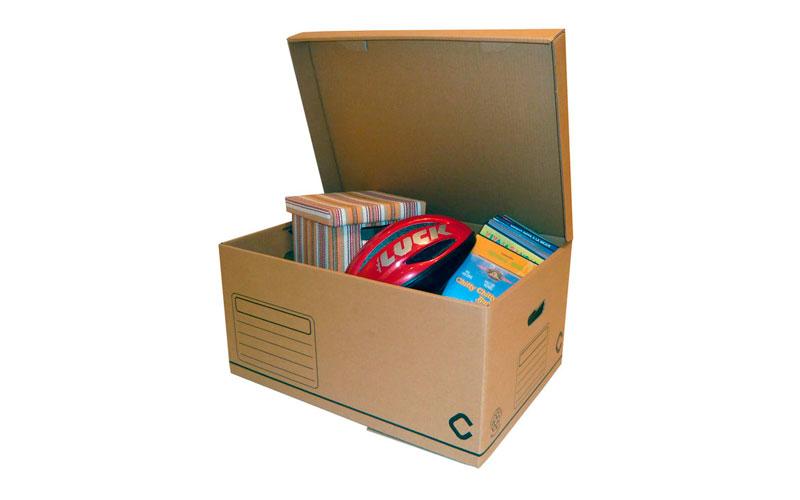 Material embalaje cajas multiusos plus Espaciogeo Vigo