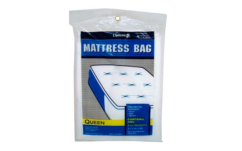Material embalaje funda colchón individual