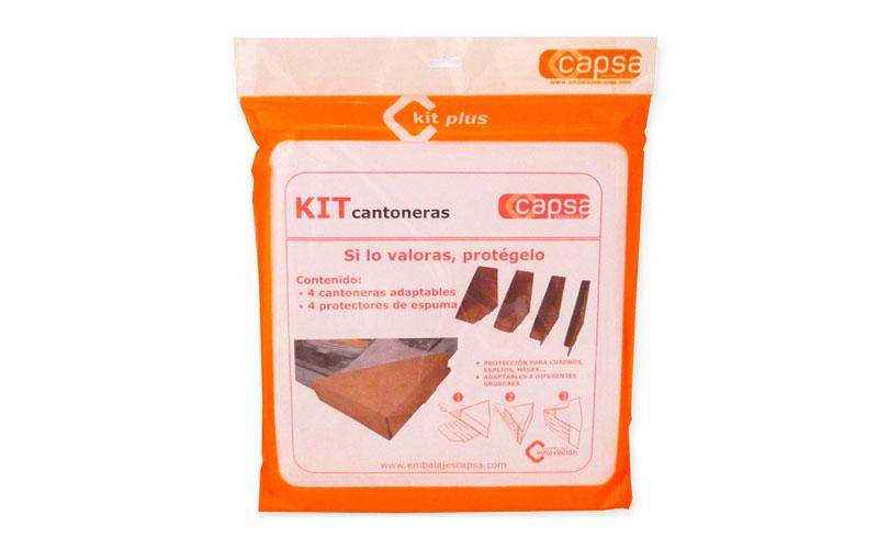 Material embalaje protector kit cantoneras