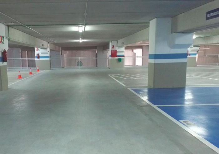 Plaza a medida abierta en Vigo