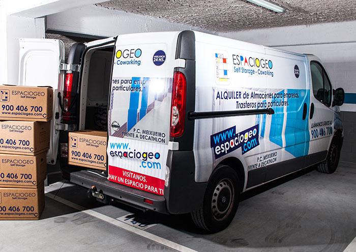 Servicio de Mudanza y Almacenamiento en Vigo