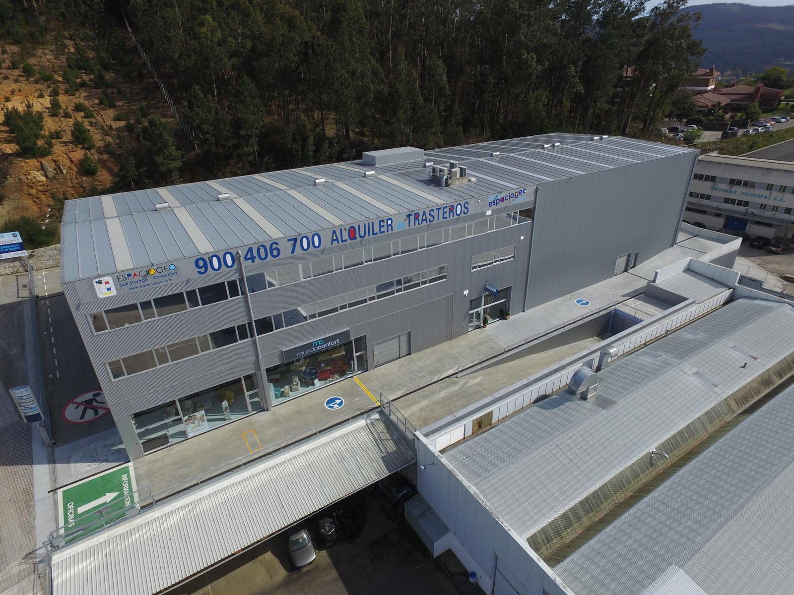 Alquiler de trasteros baratos en Espaciogeo Vigo