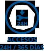 Acceso 24 h. /365 días a tu Trastero en Vigo