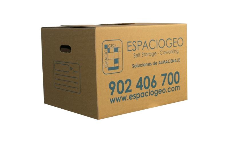 Comprar Caja de Cartón 72 L en Vigo