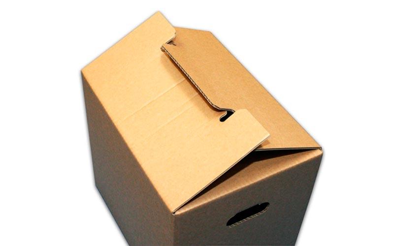 Cajas de Cartón con Autocierre