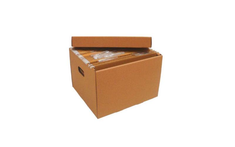 Cajas de cartón para carpetas