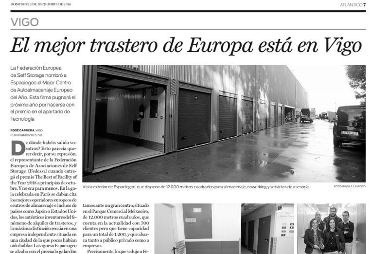 Reportaje El Mejor Trastero de Europa está en Vigo