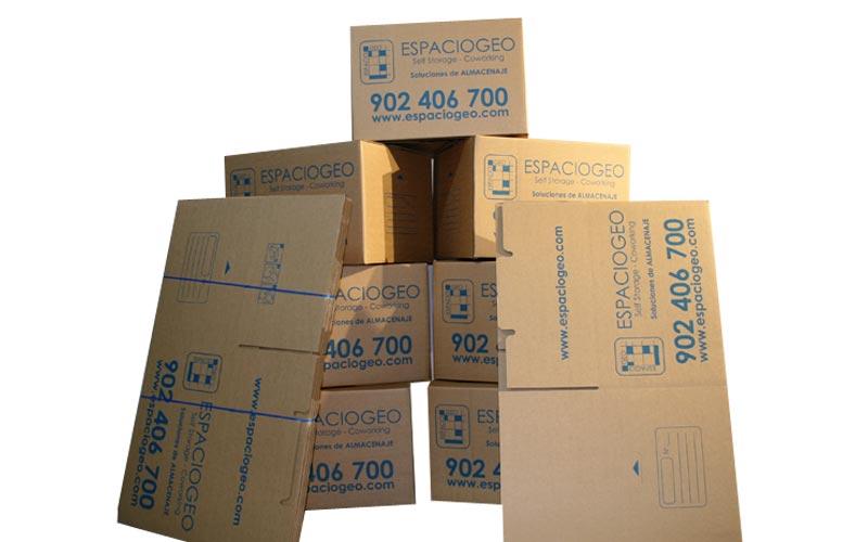 Comprar Pack de 20 Cajas Medianas de Cartón en Vigo