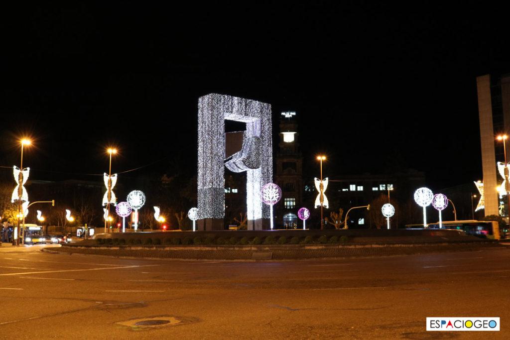 Luces Navidad Plaza América Vigo
