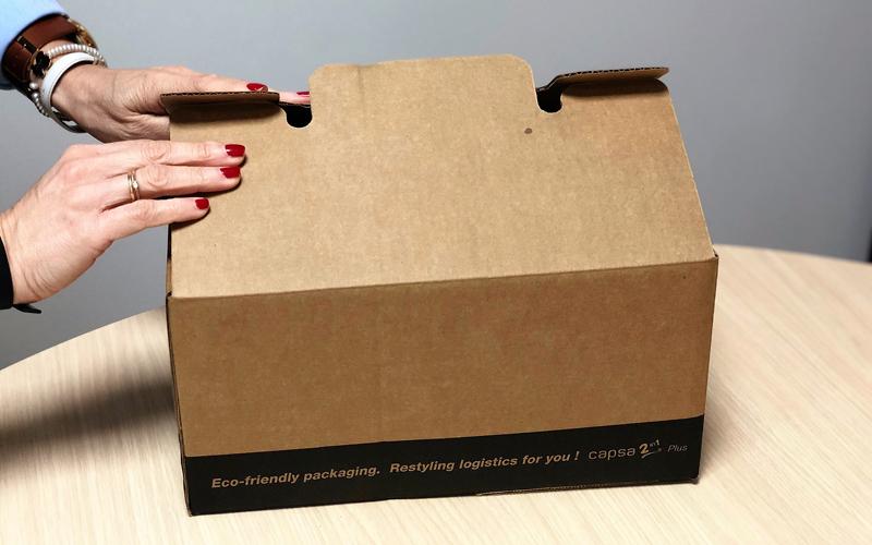 Caja de cartón para envíos pequeña