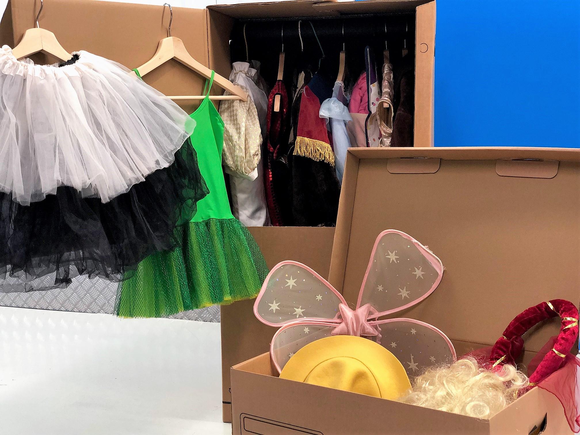 Como guardar disfraces de Carnaval