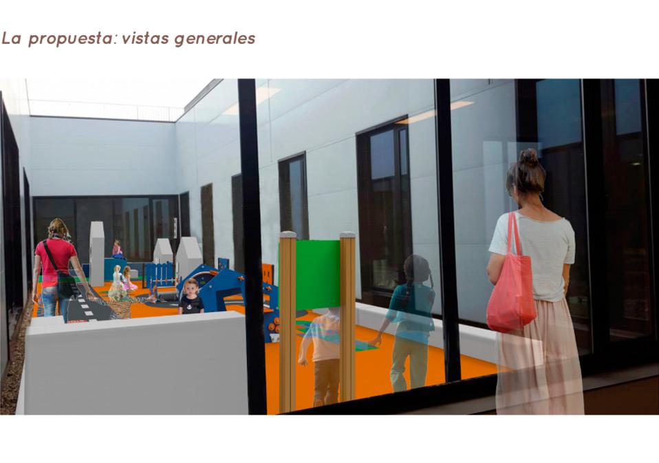 Vista Área de Juegos Hospital Álvaro Cunqueiro