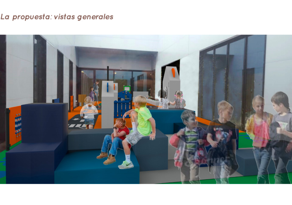 Área de Descanso Proyecto Un parque para Bicos de Papel