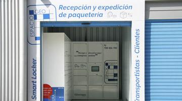 Galería Smart Locker Taquillas Espaciogeo Vigo