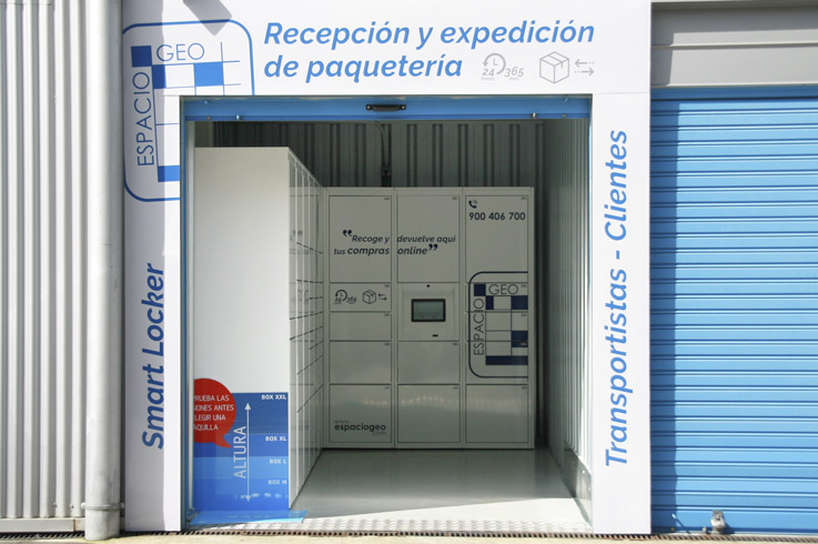 Smart Locker Taquillas Espaciogeo Vigo