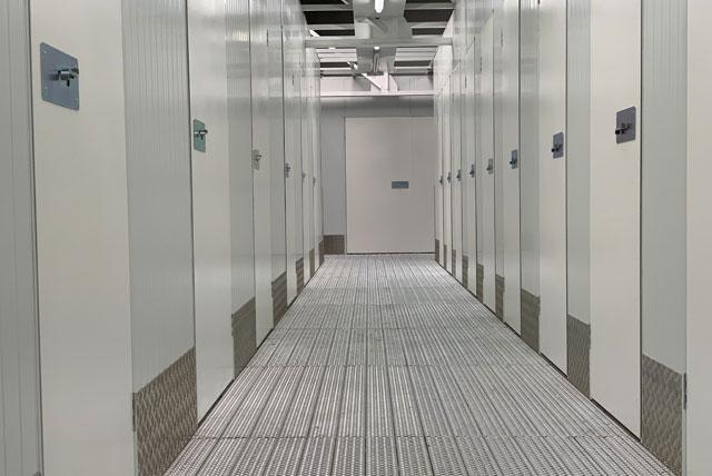 Interior pasillos Espaciogeo Madrid Oeste