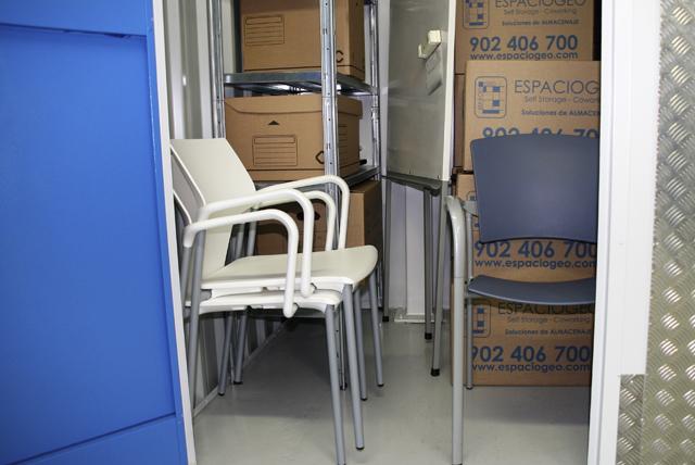 Interior Trastero para Muebles. Espaciogeo Madrid Oeste