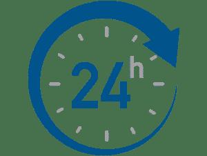 24 horas / 365 días