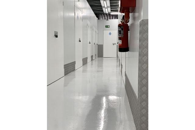 Interior pasillo Espaciogeo Madrid Oest