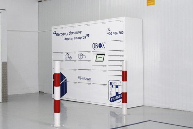 SmartLocker QBox en Boadilla. Espaciogeo
